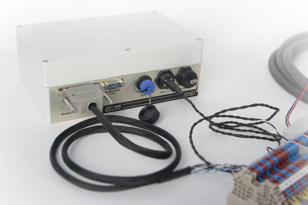 Seismic-recorder-ZET-048-I