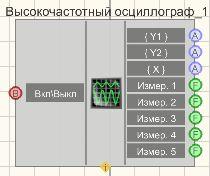 Высокочастотный осциллограф - Режим проектировщика