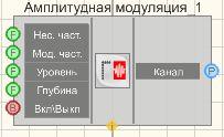 Амплитудная модуляция - Режим проектировщика