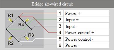 Bridge six-wired circuit 3