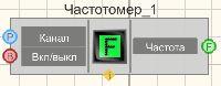 Частотомер - Режим проектировщика