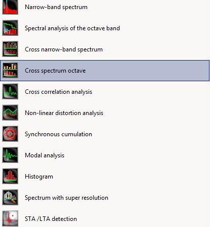 Cross-spectrum octave-cover