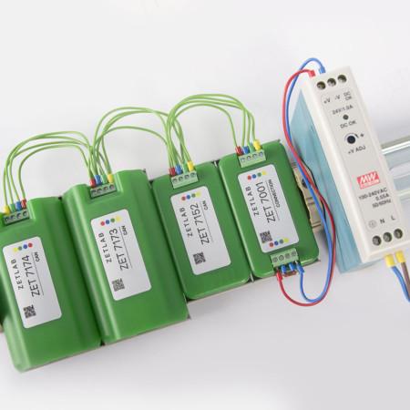 Синхронизация модулей, автономный режим и индикация параметров