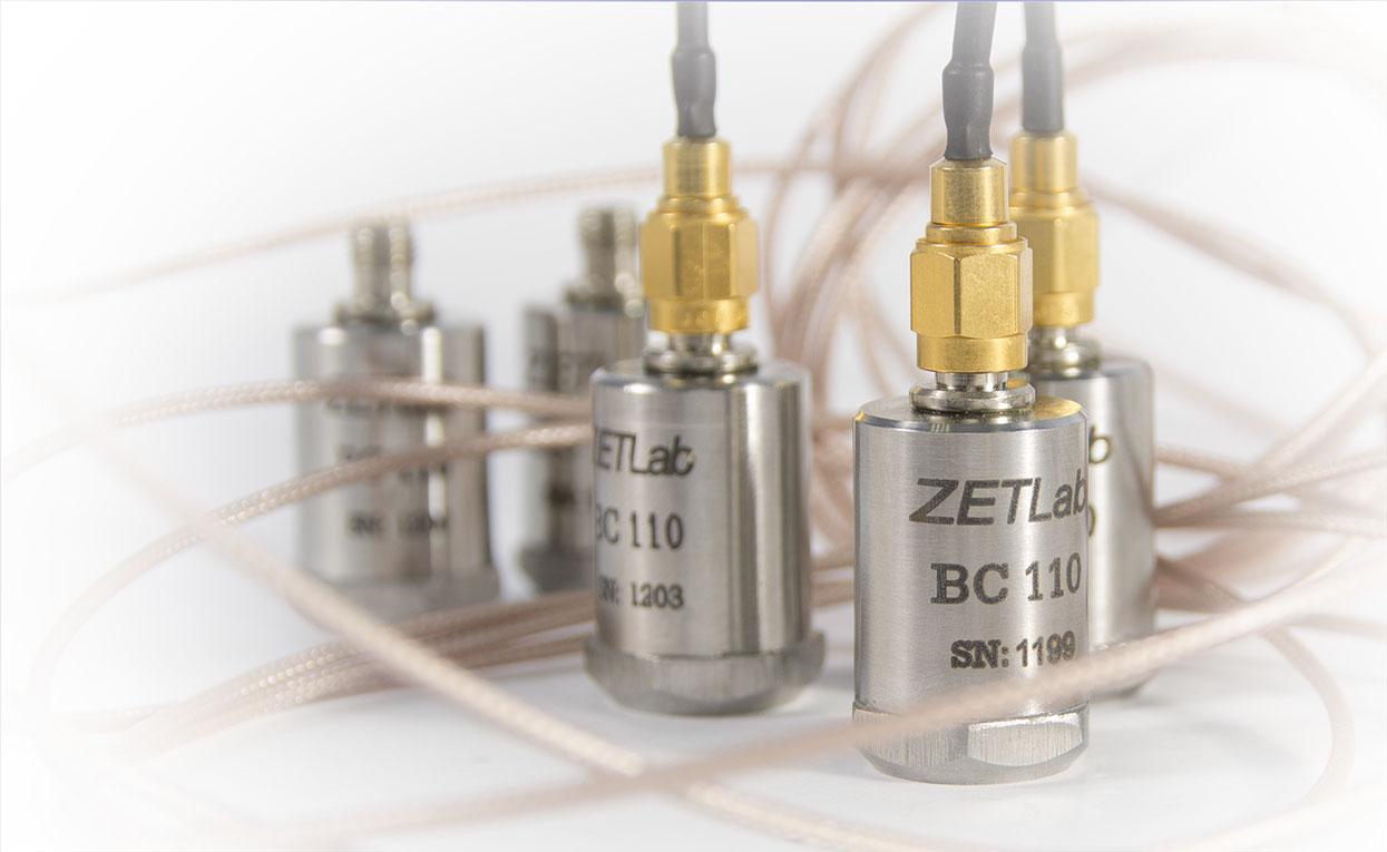 FFT spectrum analyzers - accelerometers