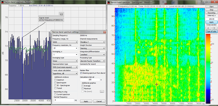 FFT spectrum analyzers - main page - FFT analysis