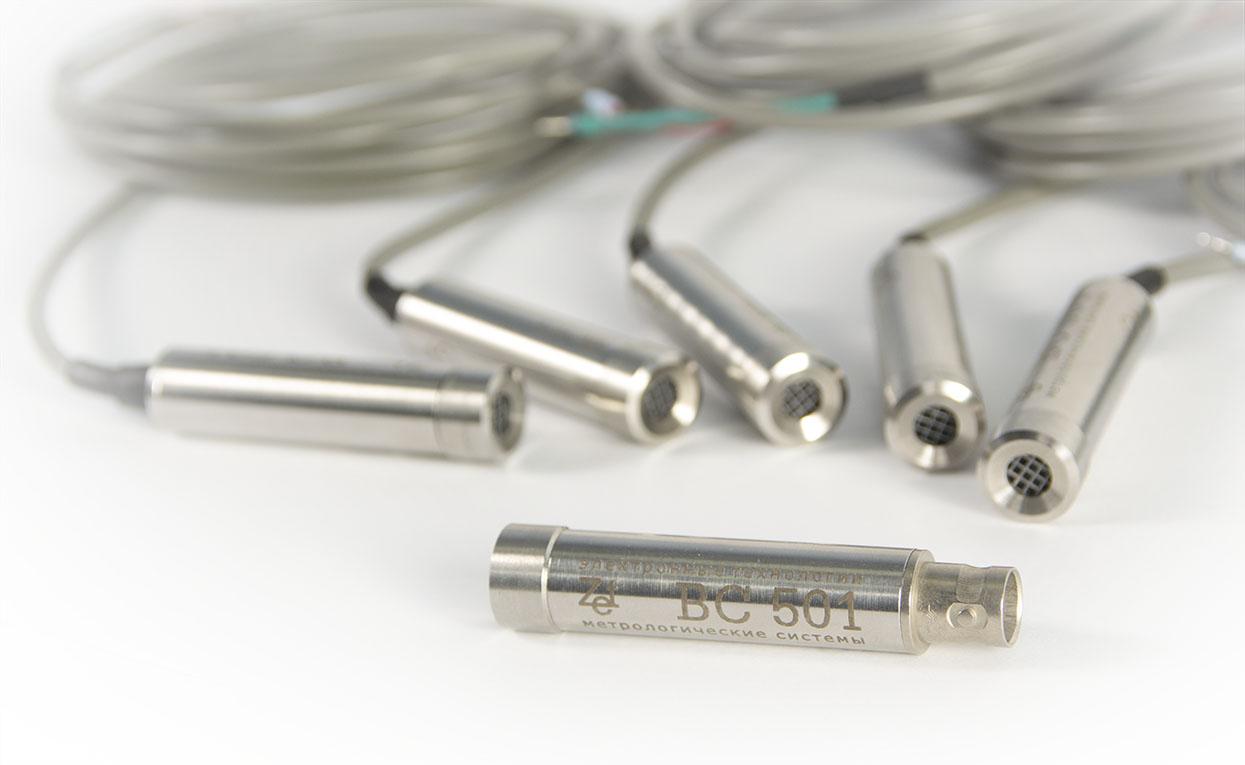 FFT spectrum analyzers - microphones