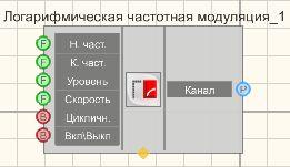Логарифмическая частотная модуляция - Режим проектировщика