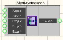 Мультиплексор - Режим проектировщика
