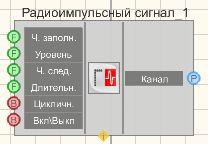 Радиоимпульсный сигнал - Режим проектировщика