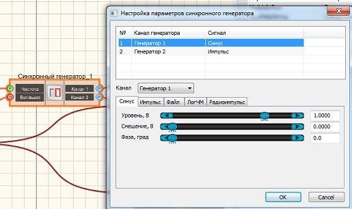 Синхронный генератор - настройка