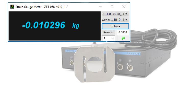 Strain gauge meter variant of system configuration