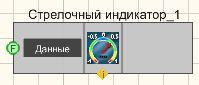 Стрелочный индикатор - Режим проектировщика