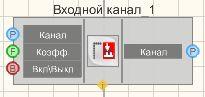 Входной канал - Режим проектировщика