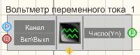Вольтметр переменного тока - Режим проектировщика