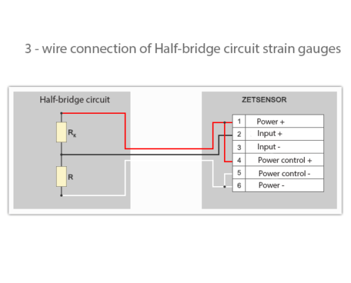 3-wire-connection-of-strain-gages-to-the-measuring