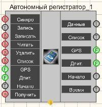 Автономный регистратор - Режим проектировщика