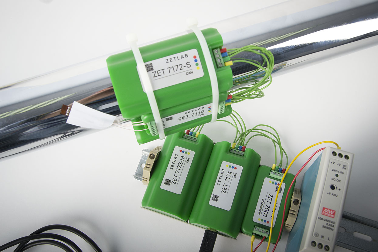 Telemetering system ZET 7172