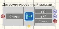 Детерминированный массив - Режим проектировщика