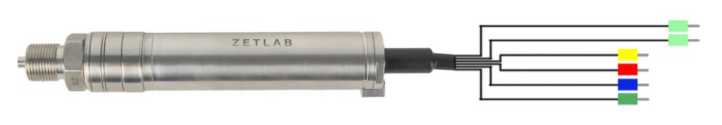Digital gauge pressure ZET 7112-I VER.2 - contacts designation