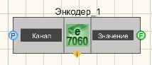 Энкодер ZET7060E - Режим проектировщика