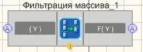 Фильтрация массива - Режим проектировщика