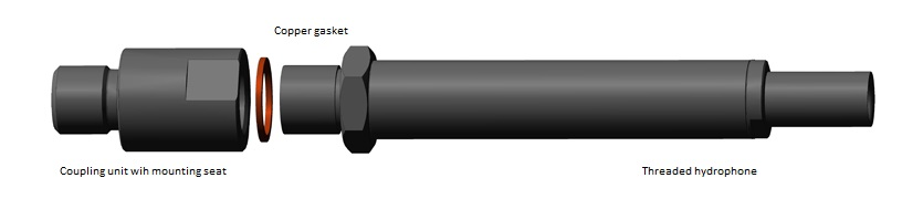 Hydrophone BC 312 - mounting seat parameters