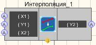 Интерполяция - Режим проектировщика