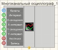Многоканальный осциллограф - Режим проектировщика