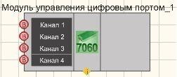 Модуль управления цифровым портом ZET7x60 - Режим проектировщика
