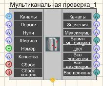 Мультиканальная проверка - Режим проектировщика