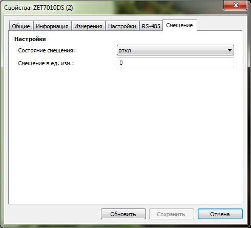 Offset tab 7010