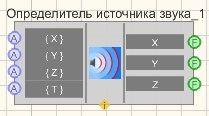 Определитель источника звука - Режим проектировщика