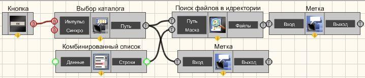 Поиск файлов в директории - Пример
