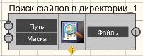 Поиск файлов в директории - Режим проектировщика
