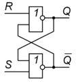 RS-триггер - рисунок 1