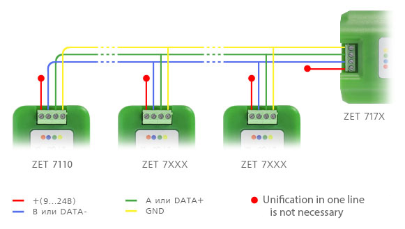 Scheme-of-connection-to-the-measuring-line 7110