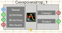 Синхронизатор (1 канал) - Режим проектировщика