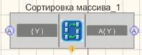 Сортировка массива - Режим проектировщика