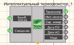 Термометр термосопротивления ZET7021 - Режим проектировщика