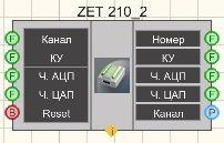ZET 210 - Режим проектировщика