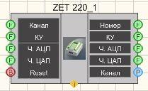 ZET 220 - Режим проектировщика