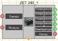 ZET 240 - Режим проектировщика