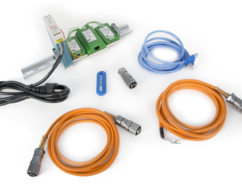 ZET-7176-Basic delivery scope for industrial version of the transducers