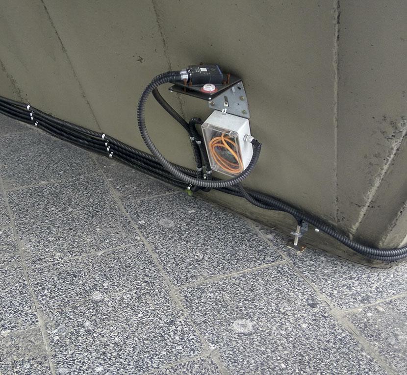 Цифровой инклинометр на объекте мониторинга