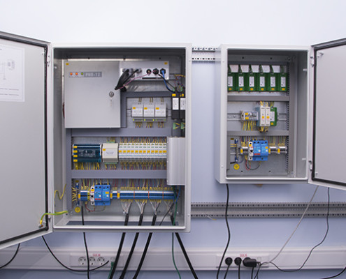 ZETLab - electrical cabinet