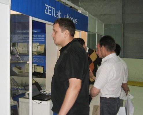 На выставке были представлены модули АЦП/ЦАП в офисном и промышленном исполнении