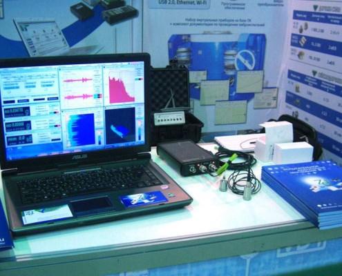 Новый анализатор спектра подключается к ПК по USB и Ethernet