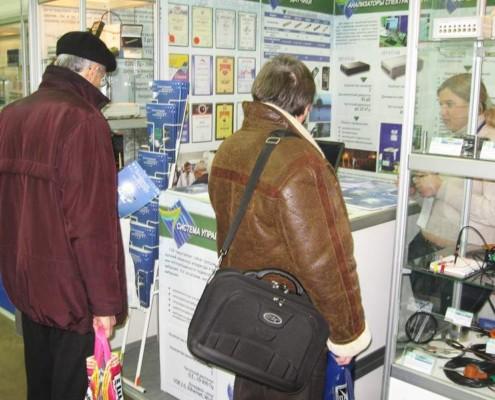 Посетители задавали интересные вопросы и получали полные ответы.