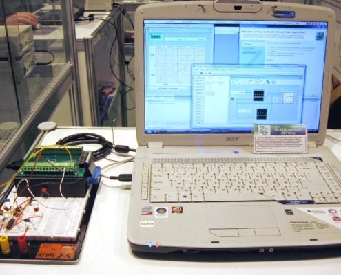 и в программах ZETLab проводится полный анализ полученных данных с возможность записи результатов в отчеты.