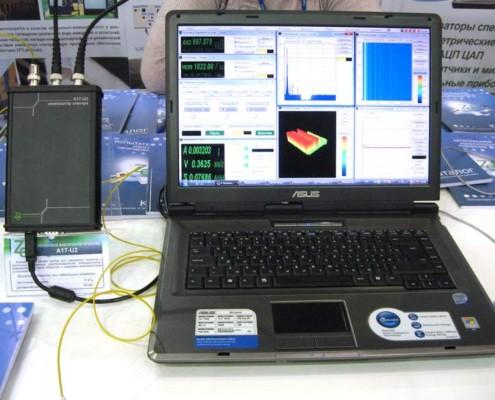 Новый анализатор спектра А17u2 подключается к ПК по USB и Ethernet
